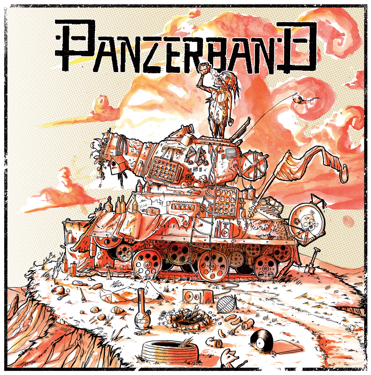 Panzerband s/t LP Twisted Chords, Punkrock